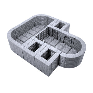 Locking Dungeon Tiles - Jail and Holding Cells