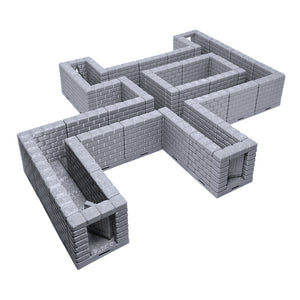 Locking Dungeon Tiles - Halls & Passages
