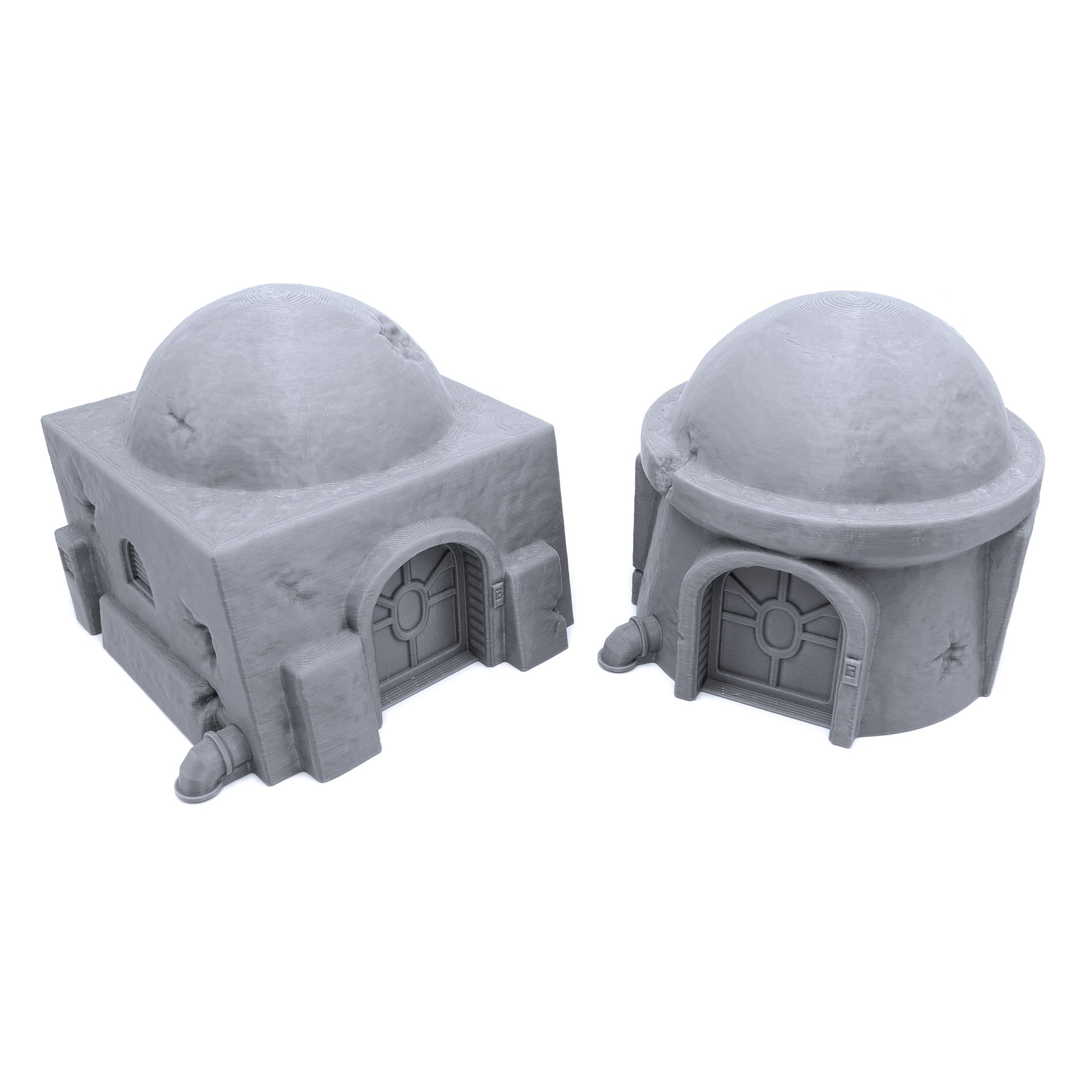 Galactic Legion Desert Planet Huts - EnderToys Terrain