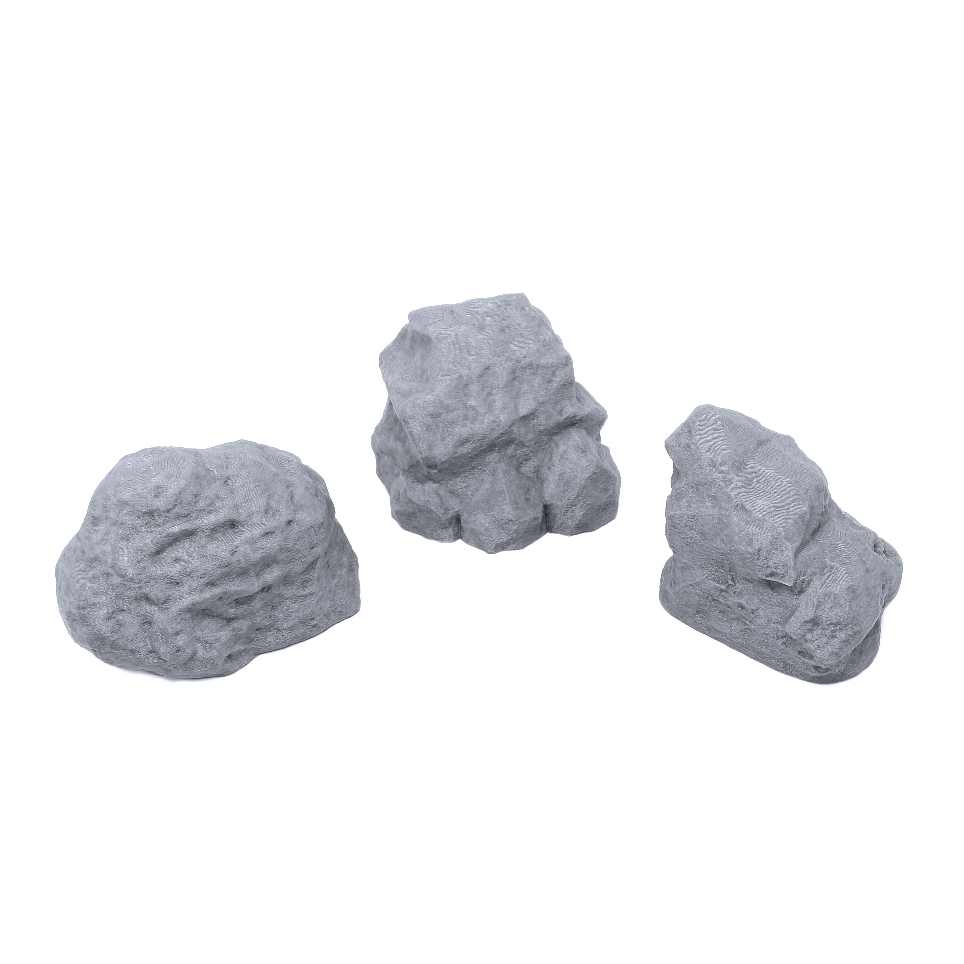 Rounded Rock Formations - EnderToys Terrain