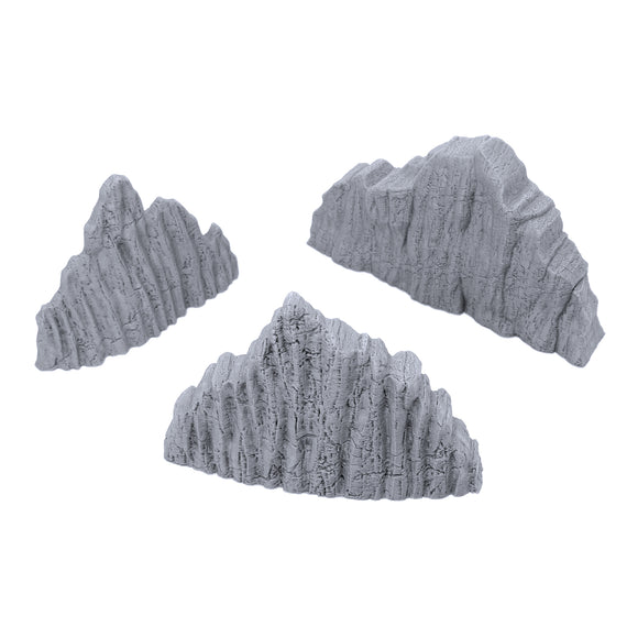Volcanic Rock Wall Set B