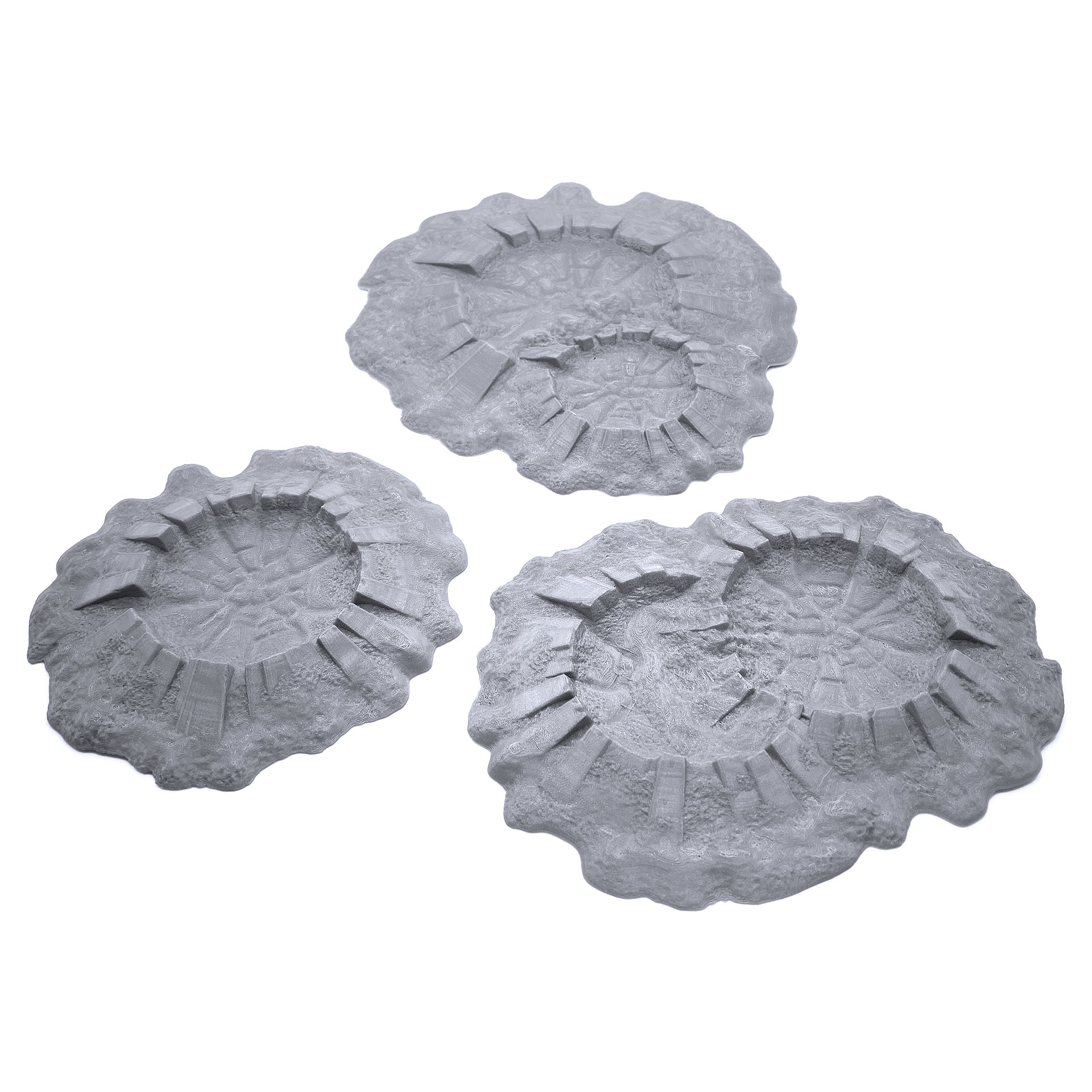 Battlefield Craters Auxiliary Set - EnderToys Terrain