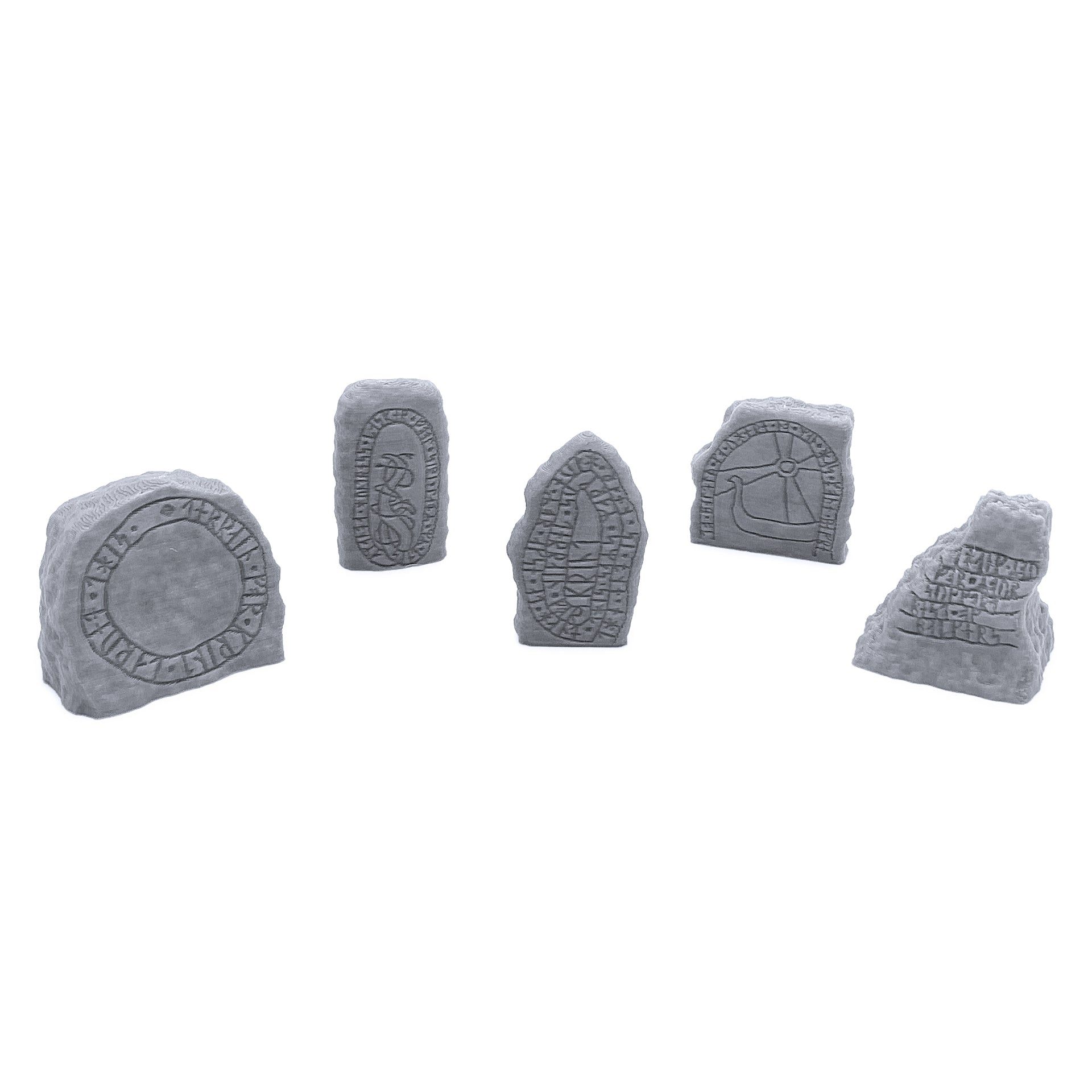 Viking Rune Stones - EnderToys Terrain