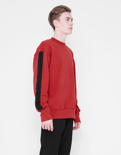 Mercer Crew Neck - GARNET