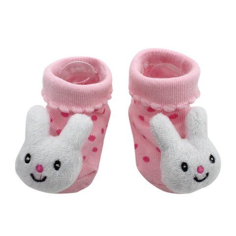 Baby socks Cartoon Newborn Baby Girls Boys Anti-Slip Socks Slipper Shoes Boots Kids sock