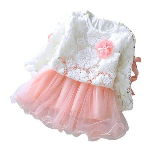 Princess Party Dress in Lace Patterns