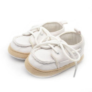 Canvas Shoes Cross-Tied Anti-Skid