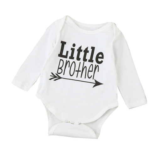 'Little Brother' Long Sleeve Bodysuit
