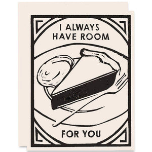 Heartell Press - Always Have Room Romance Card