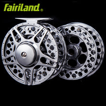 90mm Fly reel + spare spool large arbor design fly fishing reel and extra spool set 3BB from BAR-STOCK ALUMINUM ice fishing reel