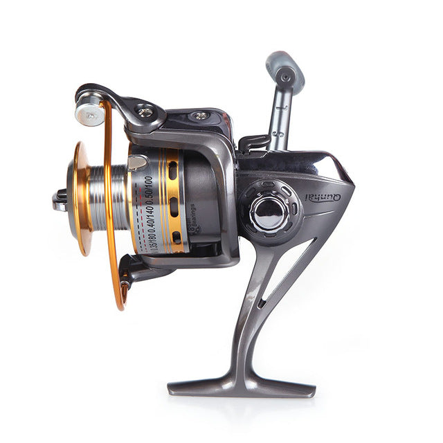 Outdoor Sport 8 BB Ball Bearing Left/Right Interchangeable Collapsible Handle Fishing Spinning Reels High Speed ST5000 5.1:1