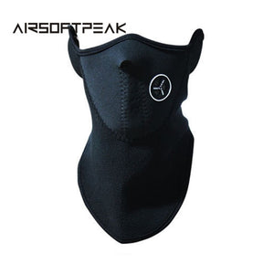 Outdoor Sports Neck Warmers Fleece Balaclavas Skiing Windproof Protect Half Face Mask Neoprene Fishing Mask Hunting Accessories