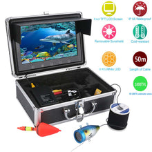 "GAMWATER 9"" Inch HD 1000tvl Underwater Fishing Video Camera Kit LED Infrared Lamp Lights Video Fish Finder 15M 20M 30M 50M"