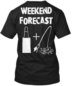 Funny Drinking And Fishinger Apparel - J Weekend Popular Tagless Tee T-Shirt