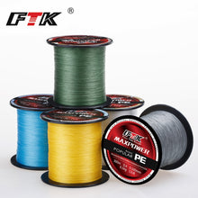 FTK 300M PE Fishing Line 4 Strands 0.1~0.4MM 13-70LB Strong PE Braided Fishing Line for Sea fishing accessories Fishing