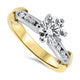1.12ct Diamond Engagement Ring with a H VS2 Quality Diamond