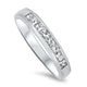 18ct White Gold 8 Stone Diamond Ring