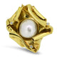 South Sea Pearl & Diamond Handmade Pendant in 18k Yellow Gold
