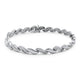 0.90cts Diamond Patterned Bracelet in 18ct White Gold with G/H VS-SI Diamonds