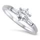0.82ct Diamond Engagement Style Ring in 18k White Gold