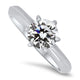 1.00ct Diamond Solitaire Ring with a H VS2 Diamond