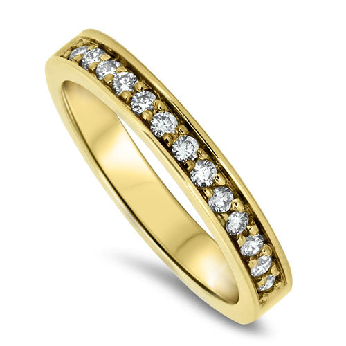 18ct Yellow Gold Eternity Diamond Ring