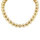 South Sea Pearl Necklace with 30 Pearls and 18k Gold Clasp