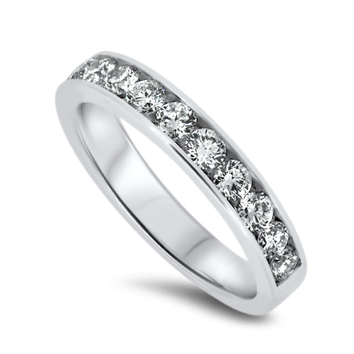 1.50ct Diamond Eternity Ring in 18k White Gold