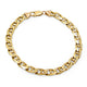 9ct Gold Solid Anchor Chain Link Bracelet