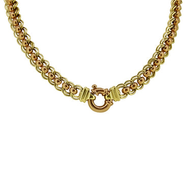 9ct Two Toned Gold Necklace