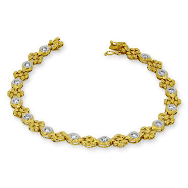 0.70ct Diamond Bracelet in 18ct Yellow Gold