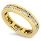 1.44cts Diamond Full Eternity Style Handmade Ring with F/G VS Diamonds