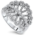 1.05cts Diamond Cluster Ring with G/H VSI-SI Diamonds in 18k White Gold