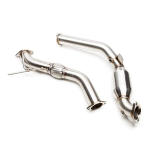 "COBB TUNING FORD CATTED 3"" DOWNPIPE MUSTANG ECOBOOST 2015-2016 - KW Dealer"