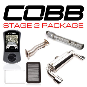 COBB TUNING MITSUBISHI EVO X STAGE 2 POWER PACKAGE W/ OVAL-TIP EXHAUST W/V3 - KW Dealer
