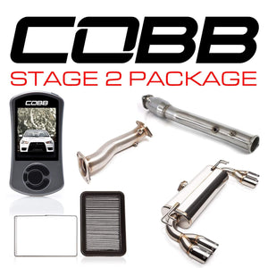 COBB TUNING MITSUBISHI EVO X STAGE 2 POWER PACKAGE W/ QUAD-TIP EXHAUST W/V3 - KW Dealer