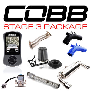 COBB TUNING MITSUBISHI EVO X STAGE 3 POWER PACKAGE W/ OVAL-TIP EXHAUST W/V3 - KW Dealer
