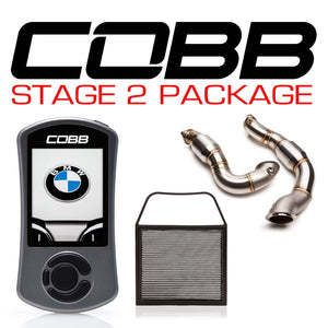 COBB TUNING BMW N54 STAGE 2 POWER PACKAGE W/V3 - KW Dealer