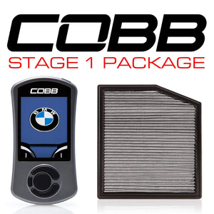 COBB TUNING BMW N55 STAGE 1 POWER PACKAGE W/V3 - KW Dealer