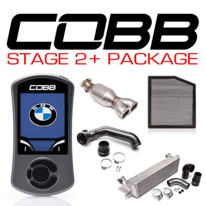 COBB TUNING BMW N55 STAGE 2+ POWER PACKAGE W/V3 - KW Dealer