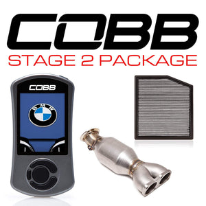 COBB TUNING BMW N55 STAGE 2 POWER PACKAGE W/V3 - KW Dealer