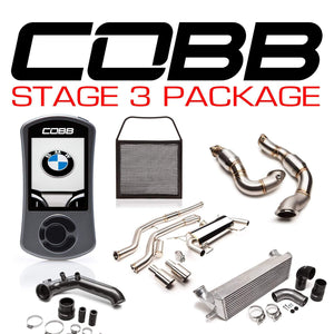 COBB TUNING BMW N54 STAGE 3 3-SERIES POWER PACKAGE W/V3 - KW Dealer