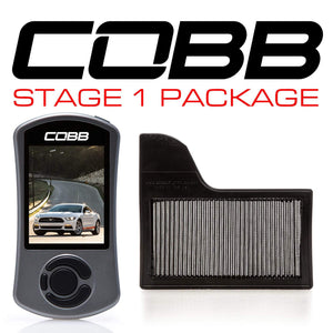 COBB TUNING FORD STAGE 1 POWER PACKAGE MUSTANG ECOBOOST 2015-2017 - KW Dealer
