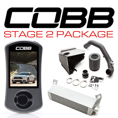 COBB TUNING FORD STAGE 2 POWER PACKAGE MUSTANG ECOBOOST 2015-2017 - KW Dealer