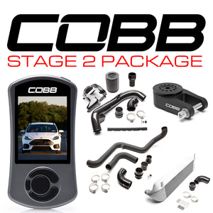 COBB TUNING FORD STAGE 2 POWER PACKAGE SILVER FOCUS RS 2016-2018 - KW Dealer