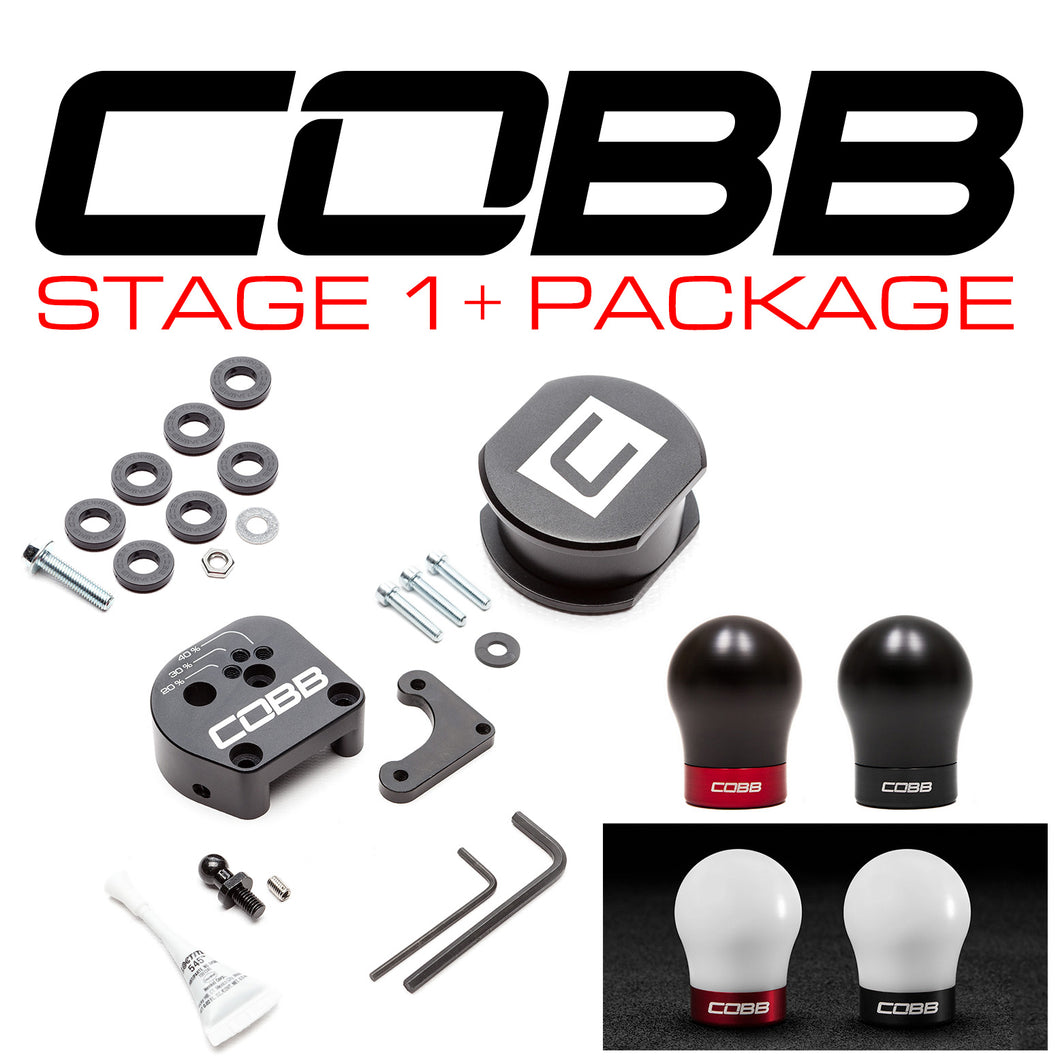 COBB TUNING FORD STAGE 1+ DRIVETRAIN PACKAGE (EXTERIOR, INTERIOR) FOCUS ST 2013-2018, FOCUS RS 2016-2018 - KW Dealer