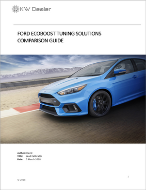 HOW TO CHOOSE FORD ECOBOOST - TUNING SOLUTION COMPARISON GUIDE - KW Dealer
