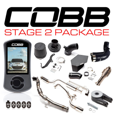COBB TUNING MAZDASPEED3/MPS3 STAGE 2 POWER PACKAGE GEN2 2010-2013 - KW Dealer