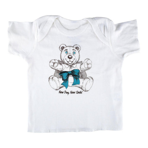 New Day New Smile baby's Cute and Adorable Teddy Bear T-shirt available at NewDayNewSmile.com
