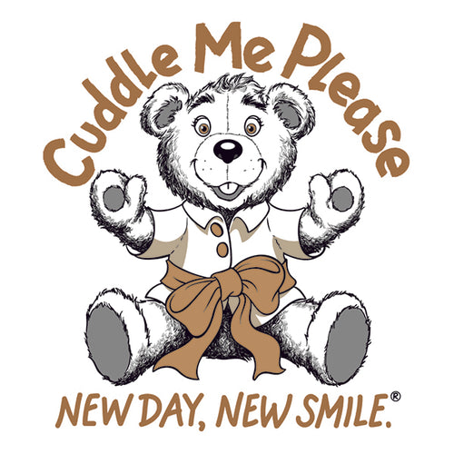 Boys, Girls, Children's, Kids Cuddle Me Please Teddy Bear available at NewDayNewSmile.com